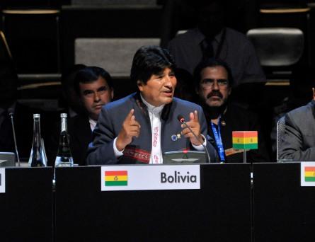 Evo Morales CELAC 2013