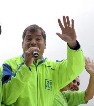Rafael Correa 2013 El Mercurio