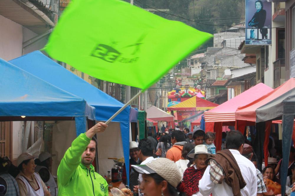 Visita de los candidatos para Asambleístas Alianza País Azuay a los cantones- Sigsig, Tomebamba y Paute 1