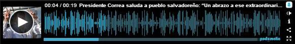 AUDIO NUESTROAMERICANO RC SALUDA A EL SALVADOR