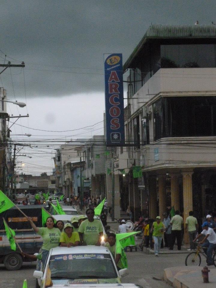 Cantón El Guabo. Recorrido por barrios.