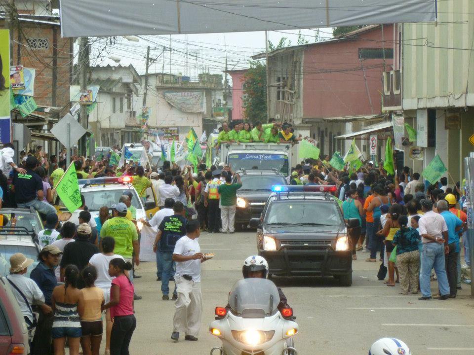 Recorrido barrios de la parroquia Buenavista, cantón Pasaje