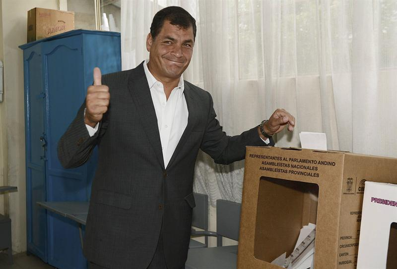 RC votando