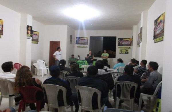 Reporte comunitario - Zamora Ene 2013 - 2