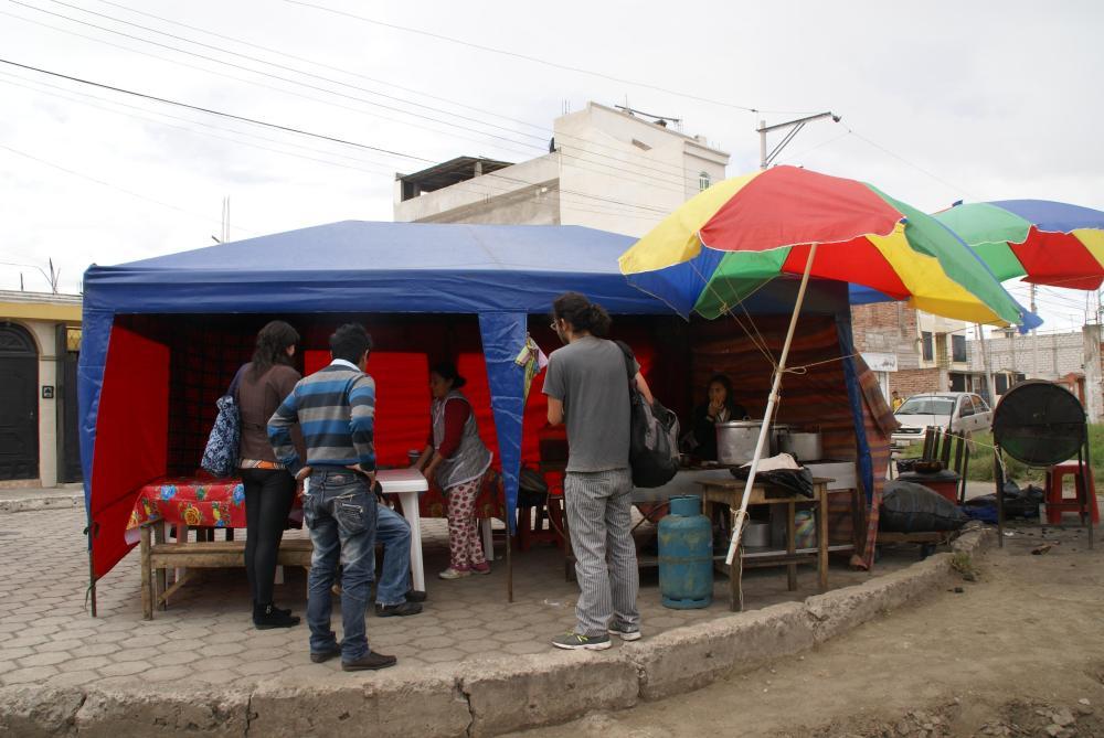 Taller de Riobamba 2013 UTILIZACION ESPACIO PUBLICO