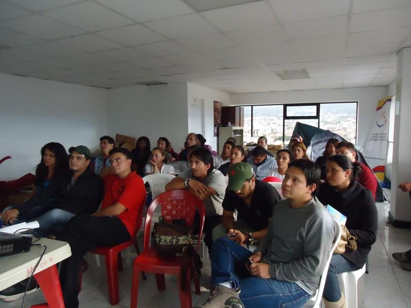 19 de febrero, socialización del Festival a las Organizaciones Juveniles de Imbabura