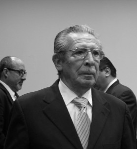 Dictador genocida Rios Montt