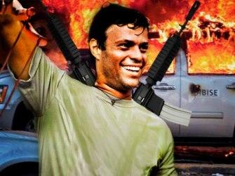 Leopoldo López terrorista y principal responsable de la acciones derivadas del Plan La Salida.